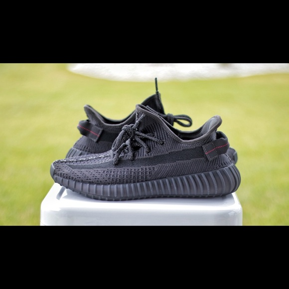 Details about Yeezy BOOST 350 V2 Static Black NON REFLECTIVE Size 11.5 FU9006 READY TO SHIP